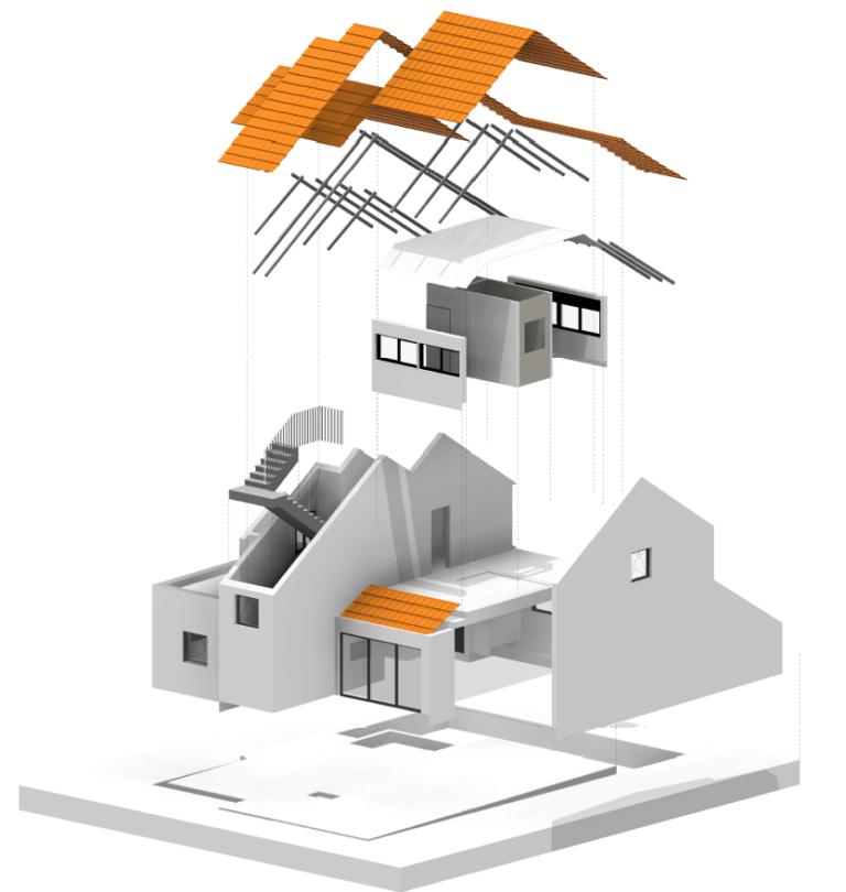 פרויקט בתלת מימד הנעשה ברוויט תוכנה לאדריכלים
