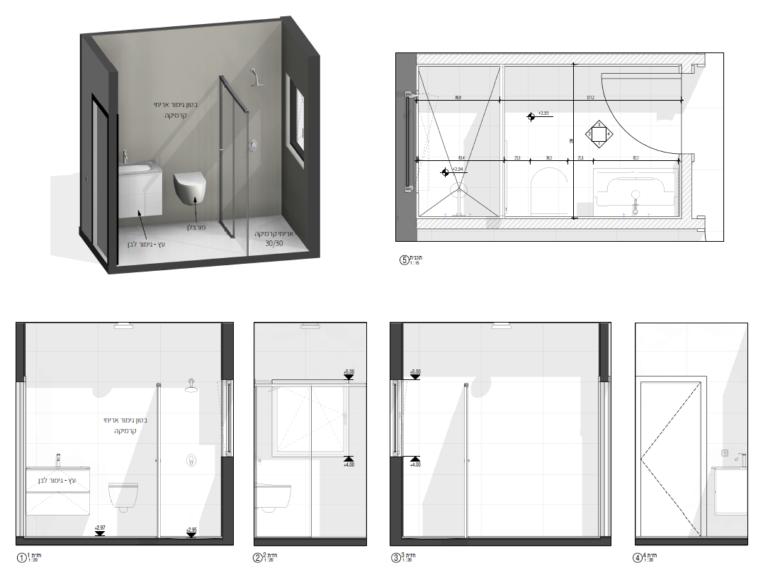 מידול אמבטיה ברוויט תוכנה לאדריכלים ומעצבי פנים