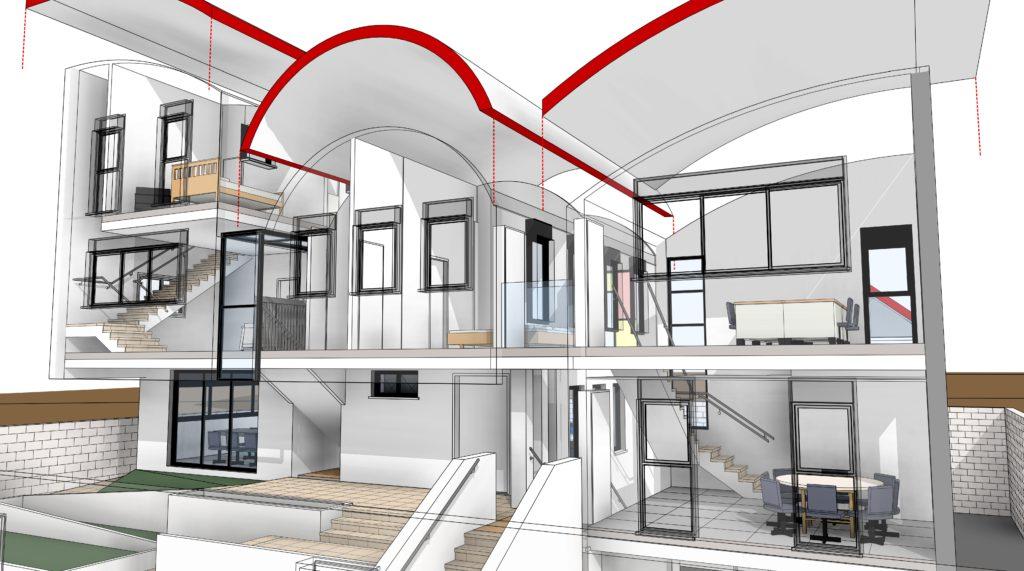 רוויט תוכנה לאדריכלים מאפשרת בניה בתלת מימד