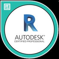 לוגו שהמדריך של קורס רוויט בעל תעודה של אוטודסק העולמית